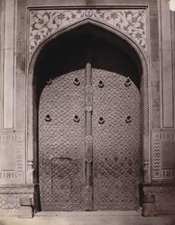 Chitor Gate of the Fort, Agra.